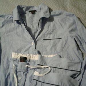 J. Crew Vintage Pajama Set Sz M